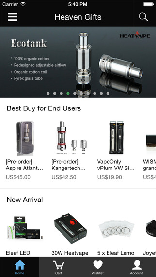Heaven Gifts - Largest E-cigarette Online Shop