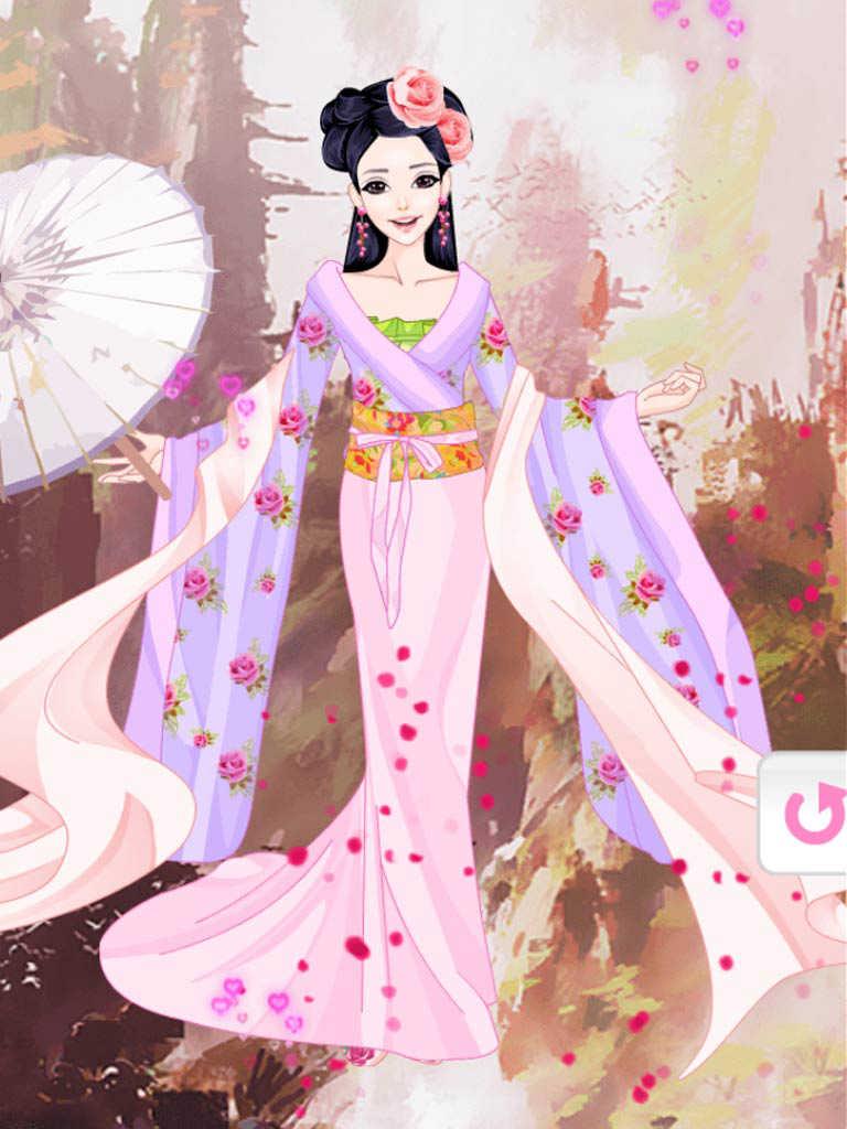 Asian dress up games