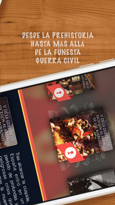 Bookshelf: Historia de España iPhone Screenshot 2