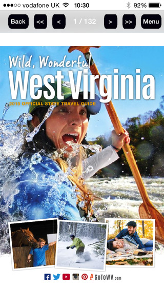 The Official West Virginia State Travel guide