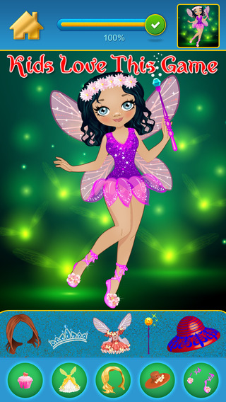 My Secret Fairy Land Copy And Draw Dressing Up Club Game - Free App
