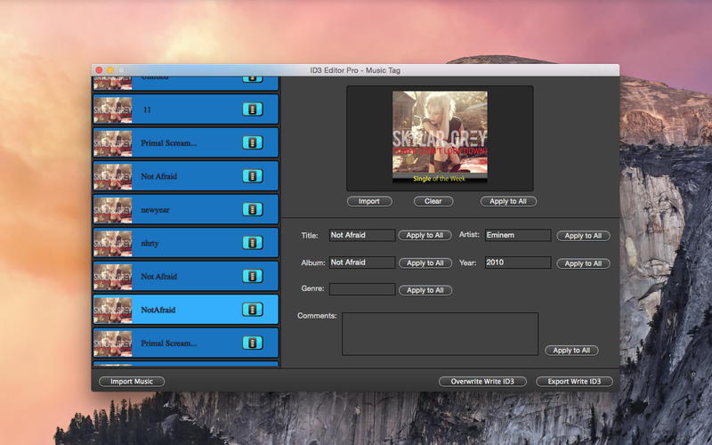 ID3 Editor Pro Screenshot - 3