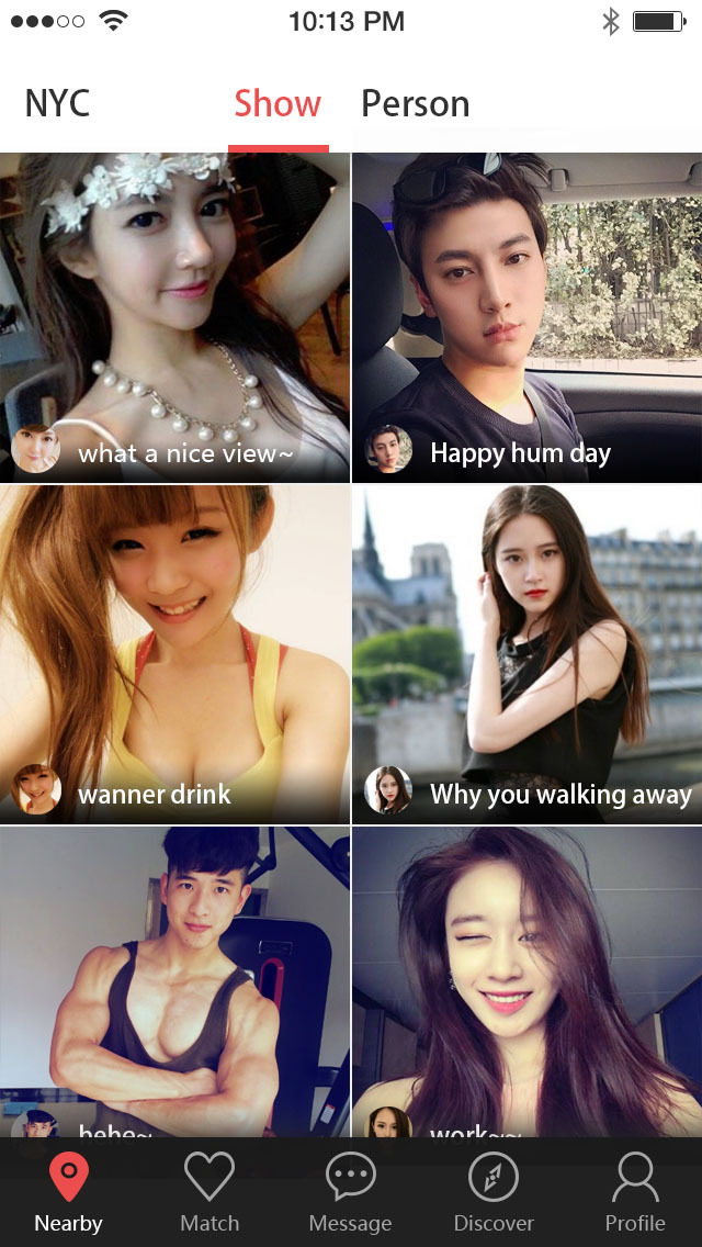Screenshots of Asian Hot Dating - Talk with Strangers and match for iPhone