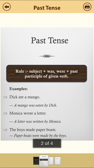 Grammar Express: Active & Passive Voice Lite iPhone Screenshot 2