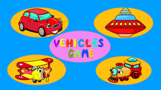 Vehicles Puzzle Game For Children