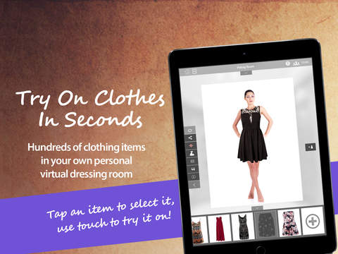 Smart Dresser Virtual Changing Room for iPad