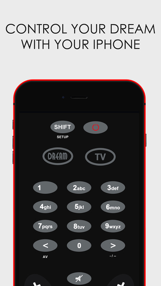 Remote Control for Dreambox iPhone 4 4s Edition