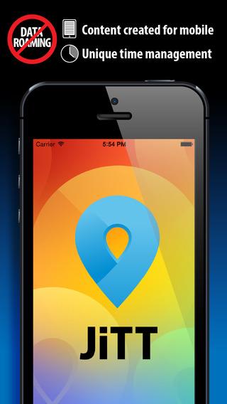 JiTT Boston Audio City Guide Tour Planner Offline Maps