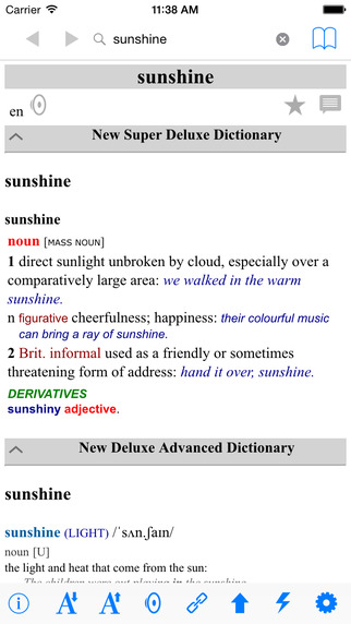 New English Advanced Super Deluxe Dictionary