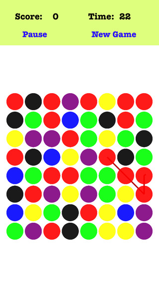Magic Link - Link the dots according to the order of the red green blue