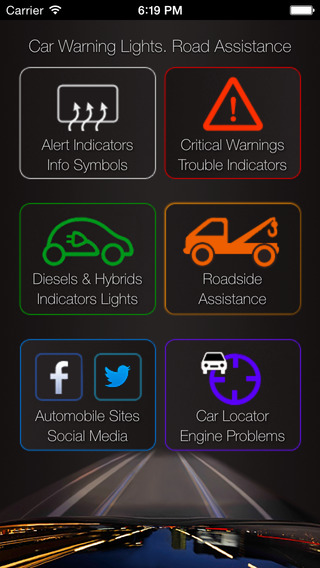 App For Your Car - Car Warning Lights Car Problems Info + Car Locator