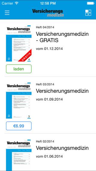 Versicherungsmedizin – Verlag Versicherungswirtschaft