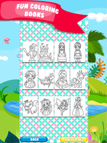 Kids Doodle Coloring Book Drawing