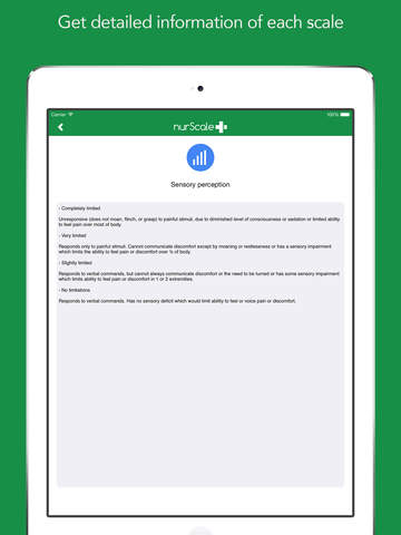 玩免費醫療APP|下載NurScale: The healthcare and social assessment application app不用錢|硬是要APP