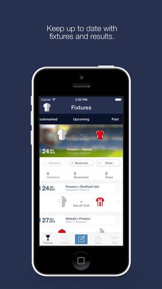 Preston North End FC Fan App