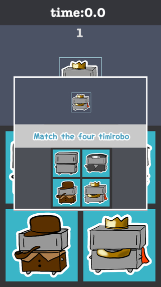 Match The Four TimiRobo