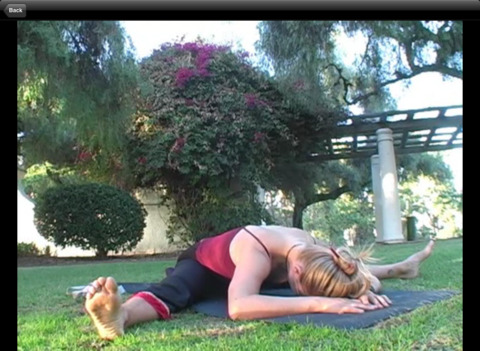 Restorative Bliss Yoga - Therapy for Life with Skyer Myers iPad Screenshot 5