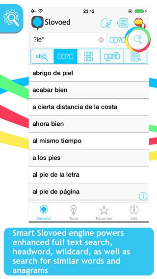 Italian Spanish Slovoed Compact talking dictionary