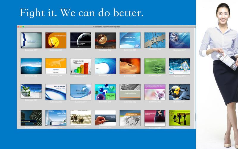 Business for Powerpoint templates Screenshot - 2