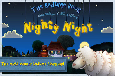 iphone Nighty Night! - The bedtime story app for children Screenshot 0