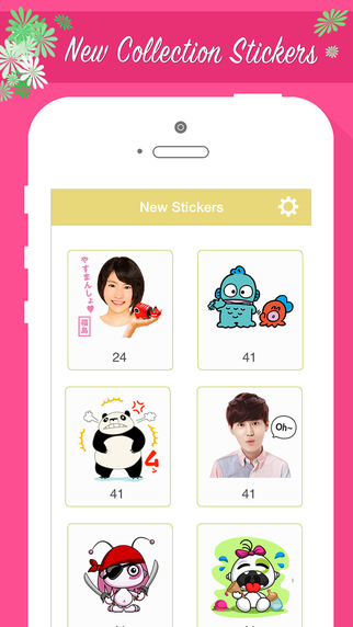 Stickers for Chat HangOut Zalo Wechat Emoticon WhatsApp Viber Kakao Talk Webo Instagram Line SnapCha