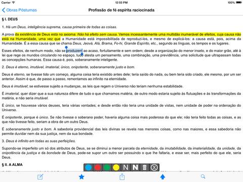 Obras Póstumas - Allan Kardec iPad Screenshot 2