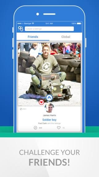 Beenger: Fun Social Challenges