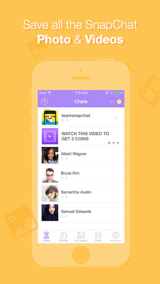 Snap Keeper for Snapchat - Snap Hack and Save All Chat Photos and Videos into Camera Roll