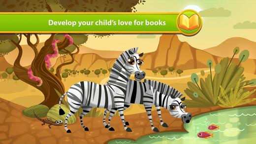 African Animals - Storybook
