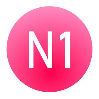 MOJI N1-日语能力考试文字词汇学习书 LOGO-APP點子