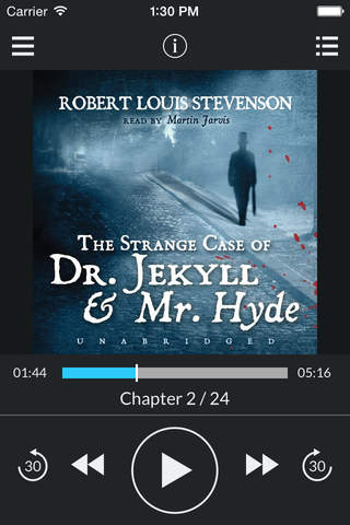 The Strange Case of Dr. Jekyll and Mr. Hyde (by Robert Louis Stevenson) (UNABRIDGED AUDIOBOOK) screenshot 1