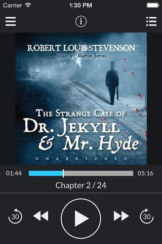 The Strange Case of Dr. Jekyll and Mr. Hyde (by Robert Louis Stevenson) (UNABRIDGED AUDIOBOOK) screenshot 1