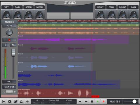 Pocket Studio - 音乐创作工具[iOS]丨反斗限免
