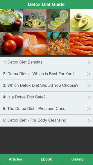 Detox Diet Guide - Learn How to Detox Cleanse Your Body