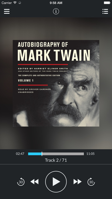 Autobiography of Mark Twain Vol. 1: The Complete and Authoritative Edition by Mark Twain UNABRIDGED