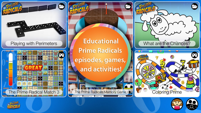 免費下載教育APP|Prime Radicals - Fun Math and Science Games and Videos for Kids app開箱文|APP開箱王
