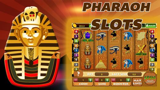 Pharaoh Slots - Egypt Gambling Slot Machine From Luxor for iPhone