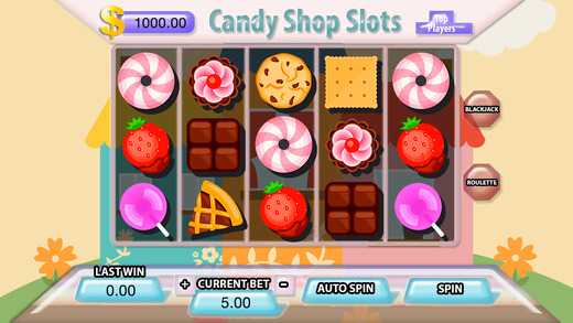 AA Candy Shop Slots - FREE Slot Game Lucky Gems of the Pharaohs