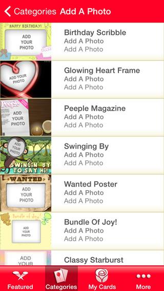 americangreetings.com eCards iPhone Screenshot 4