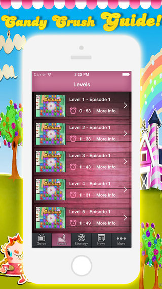 Guide for Candy Crush Saga - Video Guide Text Guide Unofficial