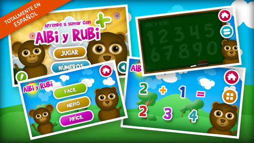 Learning Mathematics to Add and the Numbers in Spanish for Kids