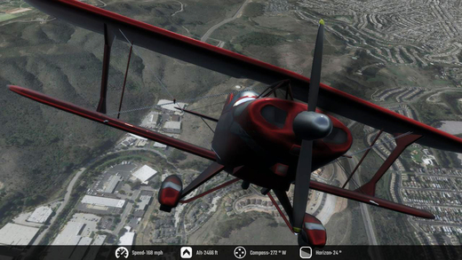 Flight Unlimited 2K16 - Flight Simulator Hry pre iPhone / iPad screenshot