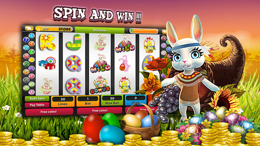` A Easter Surprise Slot Machine Casino - Play free gambling game with easter eggs 2015