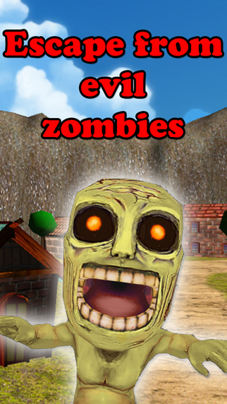 Escape from evil zombies
