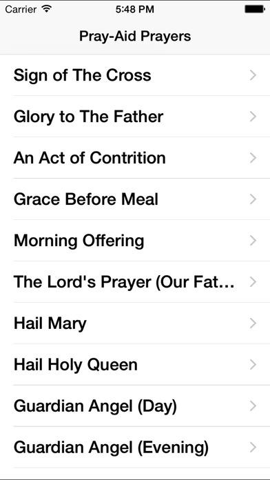 Pray-Aid iPhone Screenshot 1