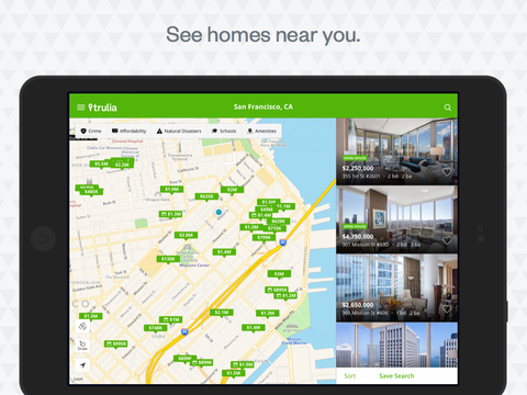 Screenshot 2 Real Estate by Trulia – Homes for Sale,  Apartments for Rent & Open Houses