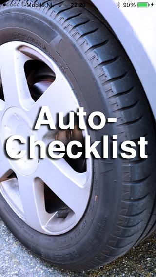 Auto-Checklist FREE