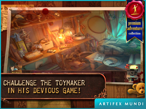 Deadly Puzzles: Toymaker HD (Full)screeshot 1