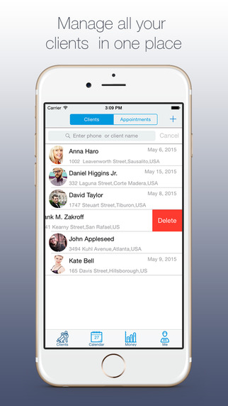 Styler - Appointment and Client list manager