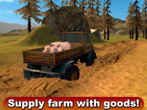 Farming Truck Driver 3D Screenshots